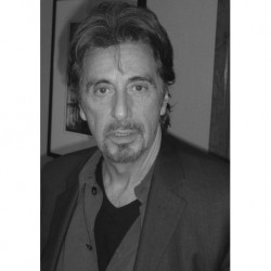 Al Pacino art 01 Poster CINEMA AMERICANO cm 35x50 Papiarte stampa da falso d'autore