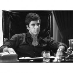 Al Pacino art 02 Poster CINEMA AMERICANO cm 35x50 Papiarte stampa da falso d'autore