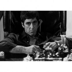 Al Pacino art 03 Poster CINEMA AMERICANO cm 35x50 Papiarte stampa da falso d'autore