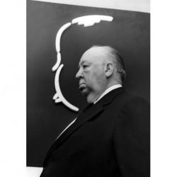 Alfred Hitchcock art 02 Poster CINEMA AMERICANO cm 35x50 Papiarte stampa da falso d'autore