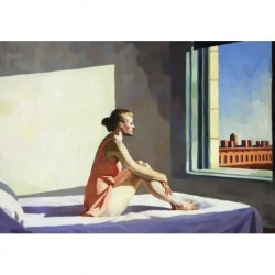 Poster Hopper Art 02 cm 50x70 Papiarte stampa da falso d'autore