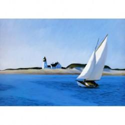 Poster Hopper Art 03 cm 50x70 Papiarte stampa da falso d'autore