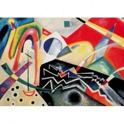 Poster Kandinsky Art 03 cm 50x70 Papiarte stampa da falso d'autore