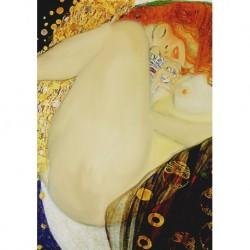 Poster Klimt Art 02 cm 50x70 Papiarte stampa da falso d'autore