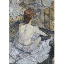 Poster Lautrec Art 04 cm 70x100 Papiarte stampa da falso d'autore