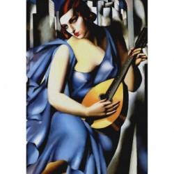 Poster Lempicka Art 04 cm 50x70 Papiarte stampa da falso d'autore