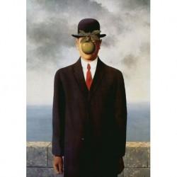 Poster Magritte Art 05 cm 35x50 Papiarte stampa da falso d'autore