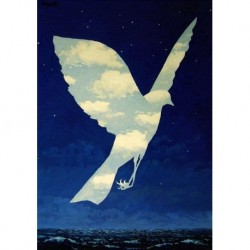 Poster Magritte Art 06 cm 70x100 Papiarte stampa da falso d'autore