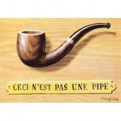 Poster Magritte Art 07 cm 35x50 Papiarte stampa da falso d'autore