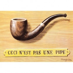 Poster Magritte Art 07 cm 70x100 Papiarte stampa da falso d'autore