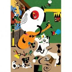 Poster Miro Art 01 cm 50x70 Papiarte stampa da falso d'autore