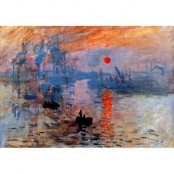 Poster Monet Art 01 cm 50x70 Papiarte stampa da falso d'autore