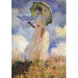 Poster Monet Art 02 cm 35x50 Papiarte stampa da falso d'autore