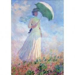 Poster Monet Art 03 cm 35x50 Papiarte stampa da falso d'autore