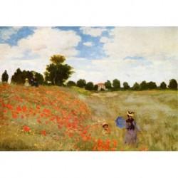 Poster Monet Art 05 cm 50x70 Papiarte stampa da falso d'autore