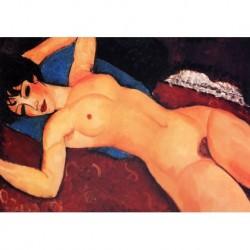 Poster Modigliani Art 02 cm 50x70 Papiarte stampa da falso d'autore