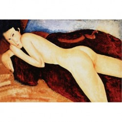 Poster Modigliani Art 03 cm 35x50 Papiarte stampa da falso d'autore