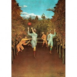 Poster Rousseau Art 07 cm 35x50 Papiarte stampa da falso d'autore