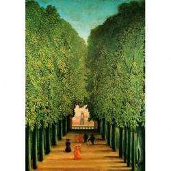 Poster Rousseau Art 09 cm 70x100 Papiarte stampa da falso d'autore