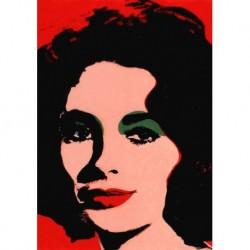 Poster Warhol Art 02 cm 35x50 Papiarte stampa da falso d'autore