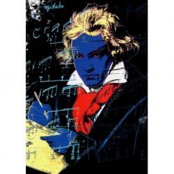 Poster Warhol Art 03 cm 70x100 Papiarte stampa da falso d'autore