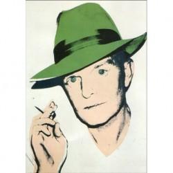 Poster Warhol Art 04 cm 35x50 Papiarte stampa da falso d'autore