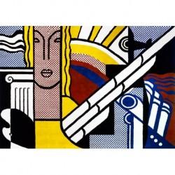 Poster Lichtenstein Art. 07 cm 70x100 Stampa Falsi d'Autore Affiche Plakat Fine Art