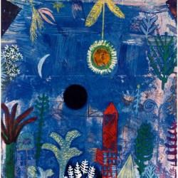 Poster Klee Art 02 cm 50x50 Papiarte stampa da falso d'autore