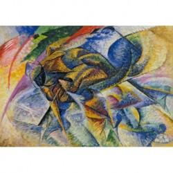 Tela Boccioni Art 02 cm 50x70 Papiarte Stampa su tela Canvas da falso d'autore