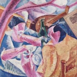 Tela Boccioni Art 03 cm 35x35 Papiarte Stampa su tela Canvas da falso d'autore