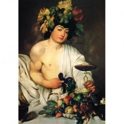 Tela Caravaggio Art 01 cm 35x50 Papiarte Stampa su tela Canvas da falso d'autore