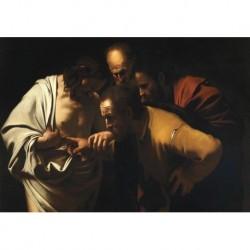 Tela Caravaggio Art 02 cm 50x70 Papiarte Stampa su tela Canvas da falso d'autore