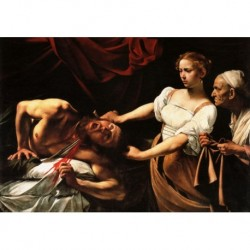 Tela Caravaggio Art 03 cm 35x50 Papiarte Stampa su tela Canvas da falso d'autore