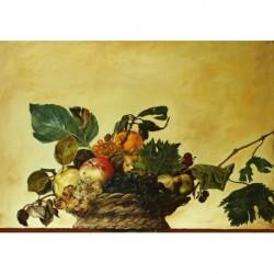 Tela Caravaggio Art 04 cm 35x50 Papiarte Stampa su tela Canvas da falso d'autore