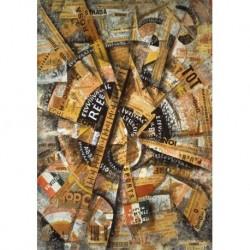 Tela Carra Art 05 cm 35x50 Papiarte Stampa su tela Canvas da falso d'autore