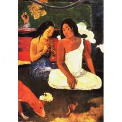 Tela Gauguin Art 01 cm 50x70 Papiarte Stampa su tela Canvas da falso d'autore