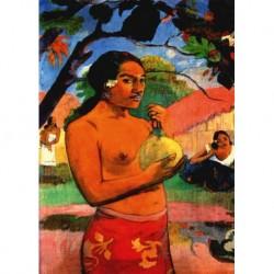 Tela Gauguin Art 04 cm 70x100 Papiarte Stampa su tela Canvas da falso d'autore