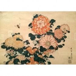 Tela Hokusai Art 08 cm 50x70 Papiarte Stampa su tela Canvas da falso d'autore