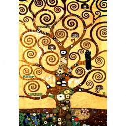 Tela Klimt Art 14 cm 70x100 Papiarte Stampa su tela Canvas da falso d'autore