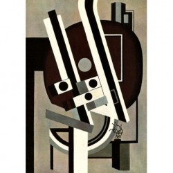 Tela Leger Art 02 cm 70x100 Papiarte Stampa su tela Canvas da falso d'autore