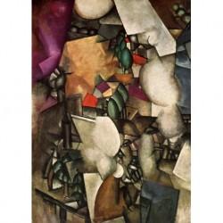 Tela Leger Art 03 cm 70x100 Papiarte Stampa su tela Canvas da falso d'autore