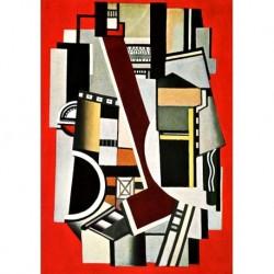 Tela Leger Art 04 cm 50x70 Papiarte Stampa su tela Canvas da falso d'autore