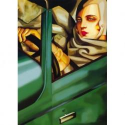 Tela Lempicka Art 03 cm 35x50 Papiarte Stampa su tela Canvas da falso d'autore