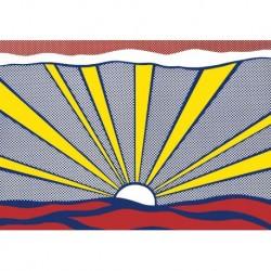 Tela Lichtenstein Art 02 cm 70x100 Papiarte Stampa su tela Canvas da falso d'autore