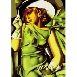 Tela Lempicka Art 03 cm 70x100 Papiarte Stampa su tela Canvas da falso d'autore