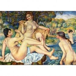 Tela Renoir Art 02 cm 50x70 Papiarte Stampa su tela Canvas da falso d'autore