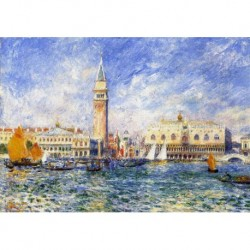 Tela Renoir Art 03 cm 35x50 Papiarte Stampa su tela Canvas da falso d'autore