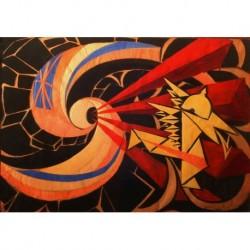 Poster Balla Art 04 cm 50x70 stampa da falso d'autore Papiarte