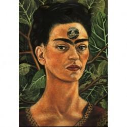Poster Frida Art 09 cm 50x70 Papiarte stampa da falso d'autore