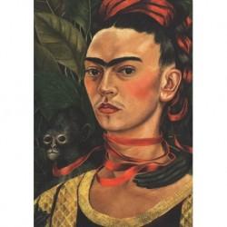 Poster Frida Art 10 cm 35x50 Papiarte stampa da falso d'autore